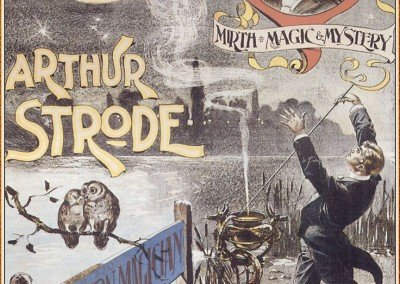 Arthur Strode Magician Poster