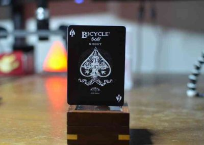 Ellusionist Black Ghost Playing Card 07