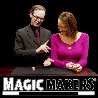 Coin Squeeze magic trick