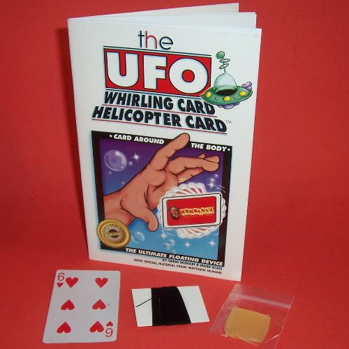 UFO Whirling Helicopter Card Spinning Magic Trick