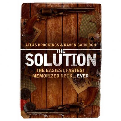 Atlas Brookings The Solution memorized deck