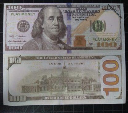 Prop play money